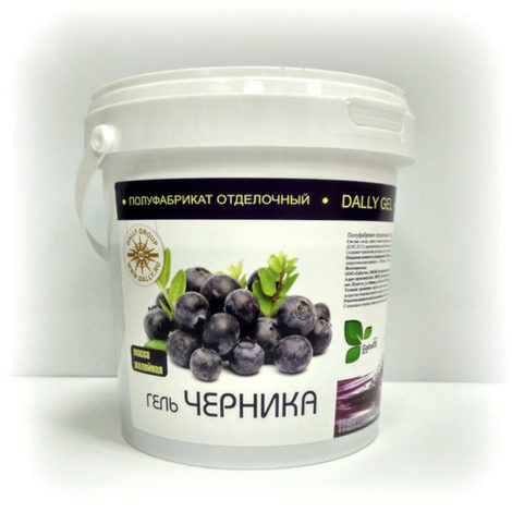 Гель Зеркальный (масса желейная) черника