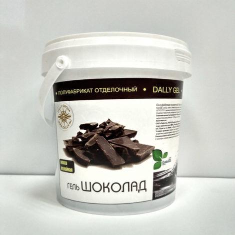 Гель Зеркальный (масса желейная) шоколад