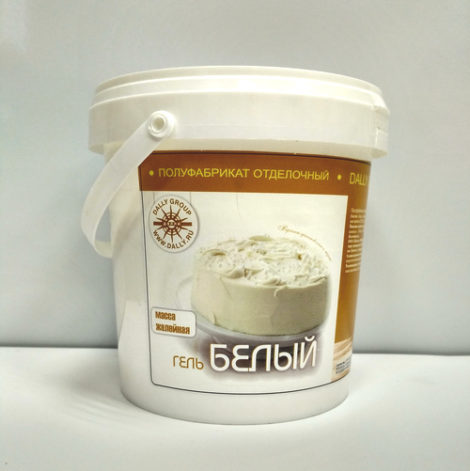 Гель Зеркальный (масса желейная) белый