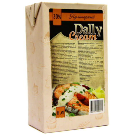 сливки кулинарные Dally Cream 20%