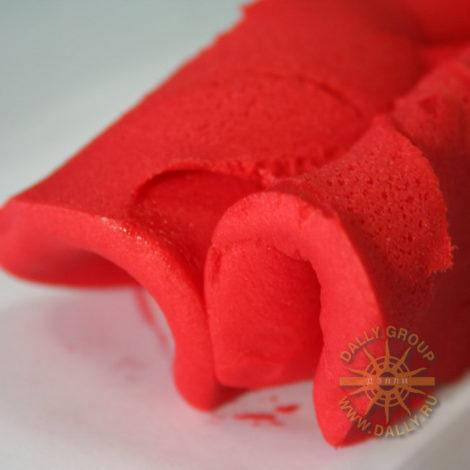 """Мастика сахарная """"Gabatti"""", 1 кг цвет Красный"""